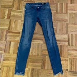 Blank Light Wash Skinny Jeans